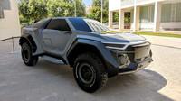 Koncept extrémního SUV Golem (zdroj: Facebook/Master en Styling y Diseño de Concepto en el Automovil)