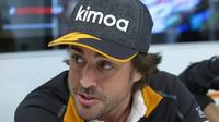 Fernano Alonso McLaren hájí