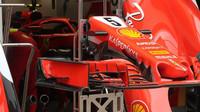 Detail předního křídla vozu Ferrari v Rakousku