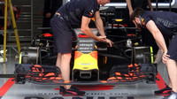 Přípravy na voze Red Bull v Rakousku
