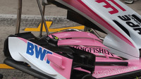 Detail předního křídla vozu Force India v Rakousku