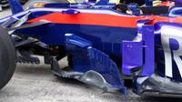 Detail vozu Toro Rosso v Rakousku