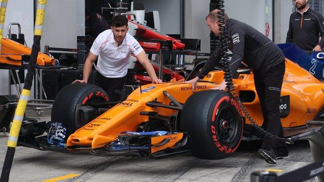 Přípravy McLarenu v Rakousku