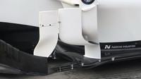 Detail vozu Sauber v Rakousku