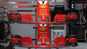 Přední křídlo Ferrari