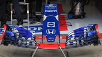 Nové přední křídlo Toro Rosso