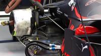 Detail vozu Red Bull v 1.tréninku v Rakousku