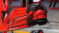 Detail předního křídla Ferrari v 1.tréninku v Rakousku