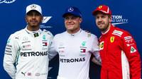 Tři nejlepší jezdci po kvalifikaci v Rakousku