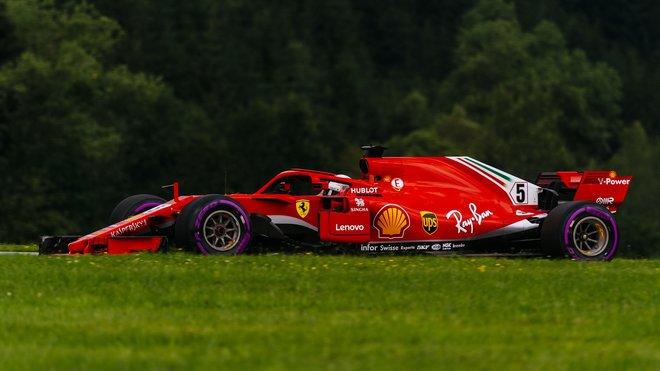 Sebastian Vettel byl v závodě nejrychlejší