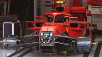 Odstrojená přední část vozu Ferrari SF71H