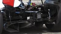 Detal vozu Toro Rosso při 3. sobotním tréninku v Rakousku