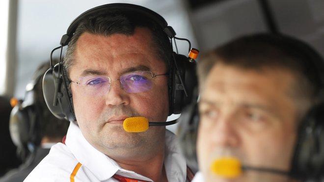 Eric Boullier ve svém posledním závodu s McLarenem