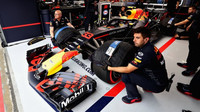 Max Verstappen v kvalifikaci v Rakousku