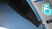 """Deflektor """"sněžný pluh"""" na Mercedesu W09 v Rakousku"""