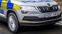 Policejní Škoda Karoq