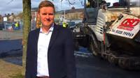 Toby McCartney, zakladatel společnosti MacRebur Plastic Roads Company