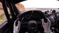 Bentley Bentayga během jízdy na závodech Pikes Peak