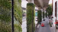 Projekt ViaVerde se zdá být zajímavým způsobem, jak ve městech zajistit čistší vzduch