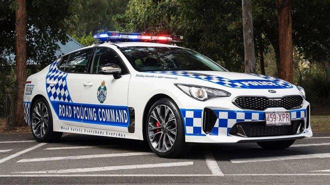 Policejní speciál Kia Stinger