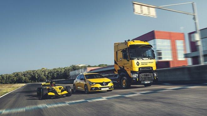 T High Renault Sport Racing se inspiroval u Formule 1