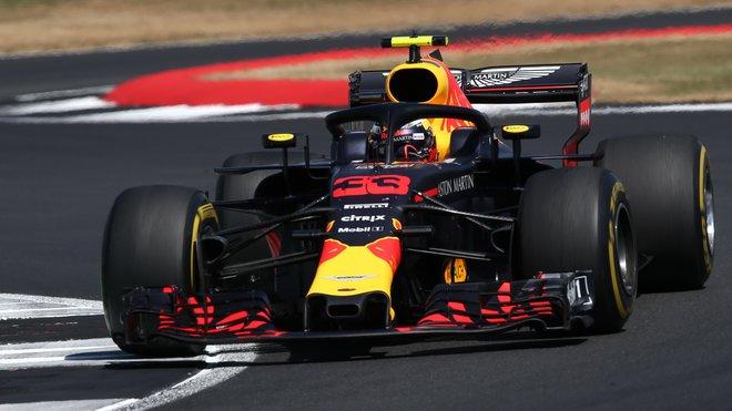 Max Verstappen ve Velké ceně Británie