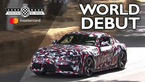 Nová Toyota Supra na akci Goodwood Festival of Speed