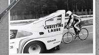 Cyklistický rekord, který by se bez auta neobešel? Podívejte se, jakou roli v něm hrálo Porsche - anotační foto