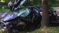 Nabouraný McLaren 720S za 6.6 milionu (zdroj: Jalopnik / Fairfax County Police Department (Sergeant Christopher Sharp))