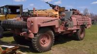 Růžový Land Rover jako tajná zbraň SAS? Pink Panther děsil nepřátele kdekoliv se objevil - anotační foto