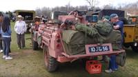 Růžový Land Rover série 2A v úpravě pro pouštní nasazení jednotek SAS se zapsal do historie pod přezdívkou Pink Panther