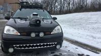 Ford Focus v úpravě podle filmu Mad Max