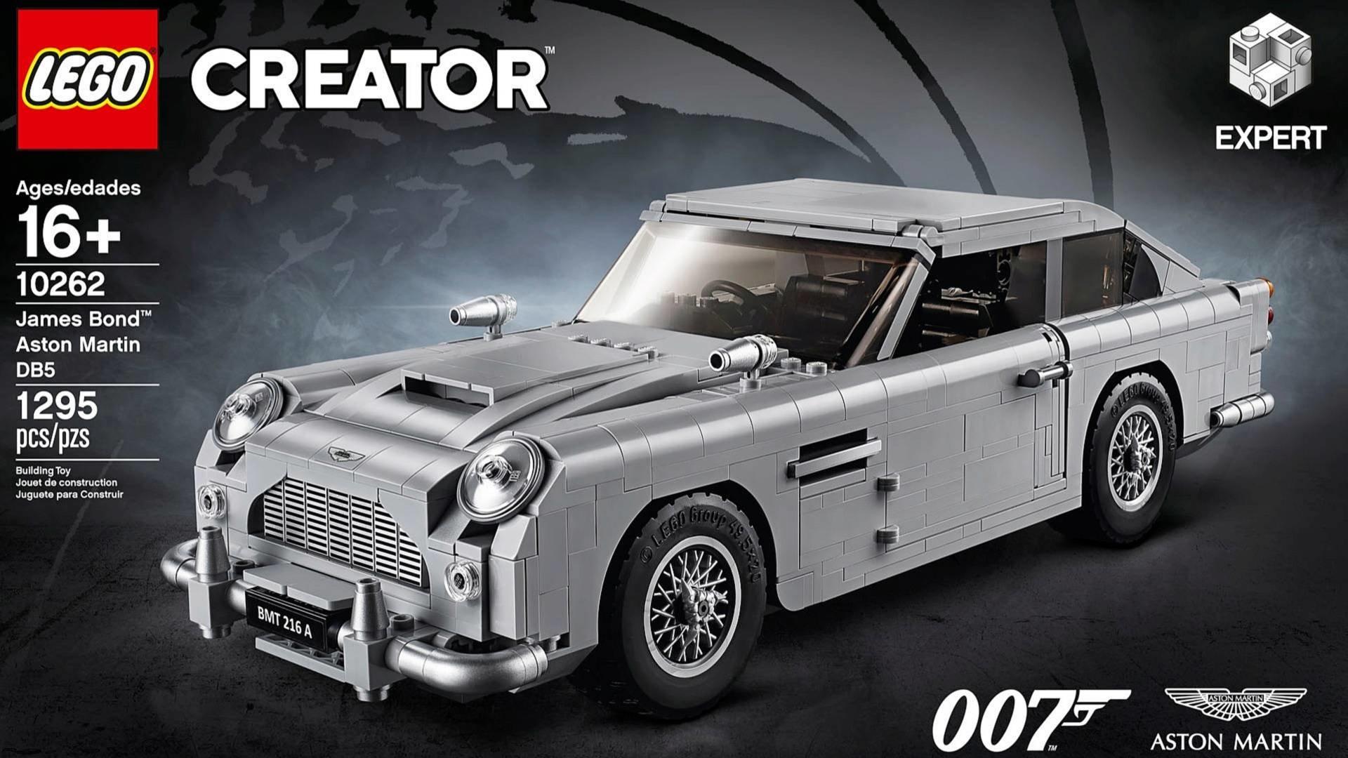 James Bond ve světě Lega Tahle replika Aston Martinu má i