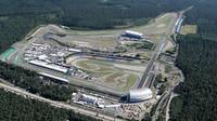 Letecký pohled na Hockenheimring