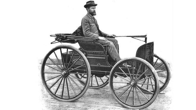 Frank Duryea - vítěz prvního amerického automobilového závodu