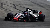 Romain Grosjean v závodě v Německu