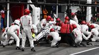 Marcus Ericsson v závodě v Německu