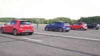 Které GTI je nejrychlejší? Velké srovnání nejostřejších modelů Volkswagenu - anotační foto