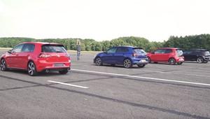 Které GTI je nejrychlejší? Velké srovnání nejostřejších modelů Volkswagenu - anotační obrázek