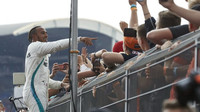 Lewis Hamilton po závodě v Německu