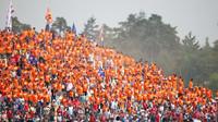 Fanošci Maxe Verstappena v závodě v Německu