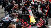 Daniel Ricciardo před závodem v Německu