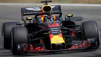 Daniel Ricciardo v závodě v Německu