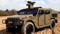 Evropská odpověď na všestranný Hummer? Francouzský Sherpa se nezalekne boje ani terénu - anotační foto