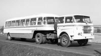 Škoda-LIAZ 706 RTTN s autobusovým návěsem