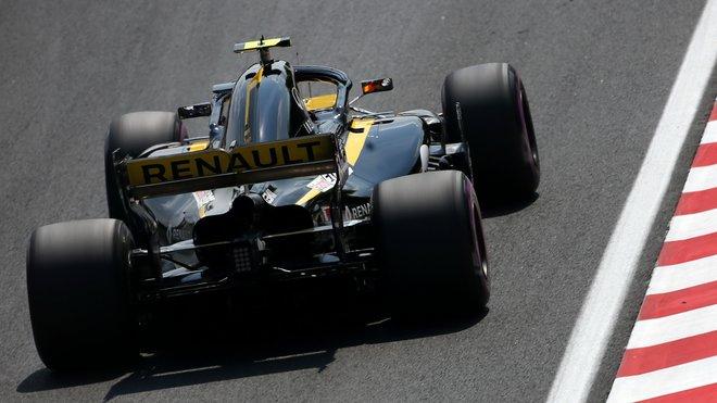 Carlos Sainz s Renaultem RS18