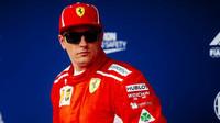 Kimi Räikkönen dojel jako třetí po deštivé kvalifikaci v Maďarsku