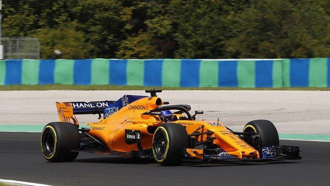 Fernando Alonso v Maďarsku