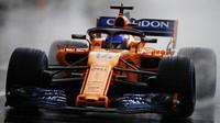 Fernando Alonso za deštivé kvalifikace v Maďarsku