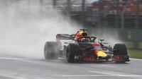 Daniel Ricciardo za deštivé kvalifikace v Maďarsku